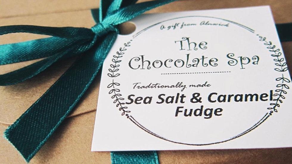 Sea Salt & Caramel Fudge Box