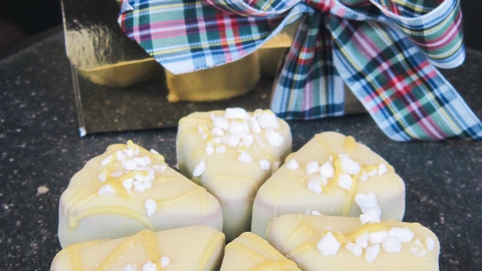 Lemon Meringue 6 Chocolate Gift Box
