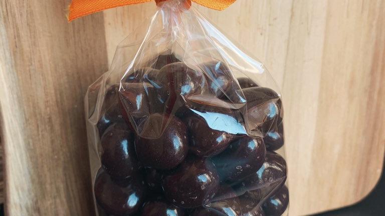 Dark Chocolate Ginger Bites