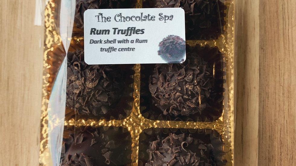 Rum Truffles, Dark Chocolate Tasterpack