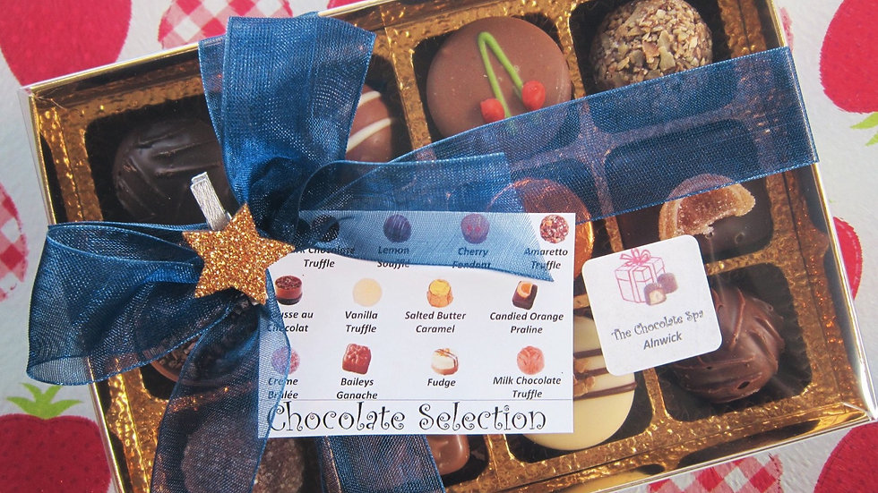 Build Your Own 12 Chocolate Box
