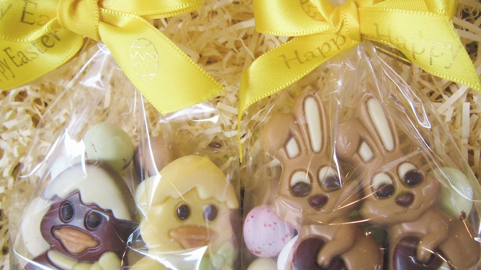 Crispy Egg & Chocolate Figure Bag