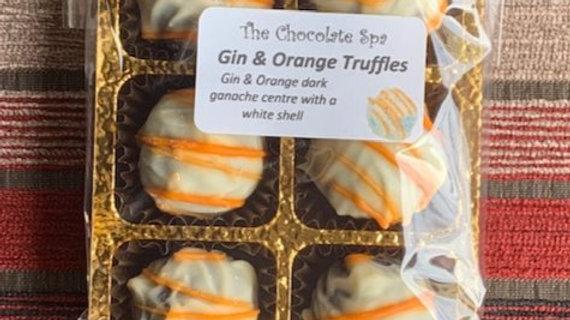 Gin and Orange Truffle Tasterpack