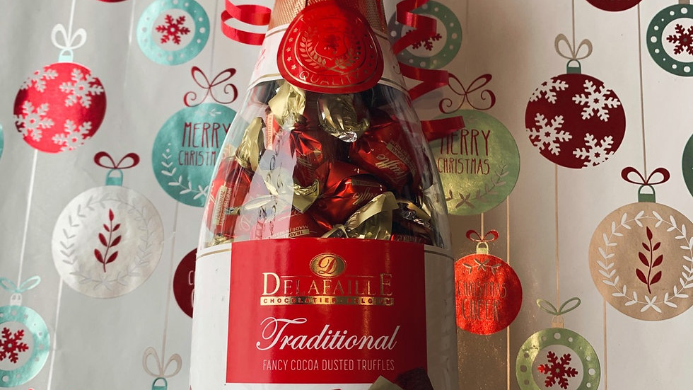 Cocoa Truffle Filled Bottle