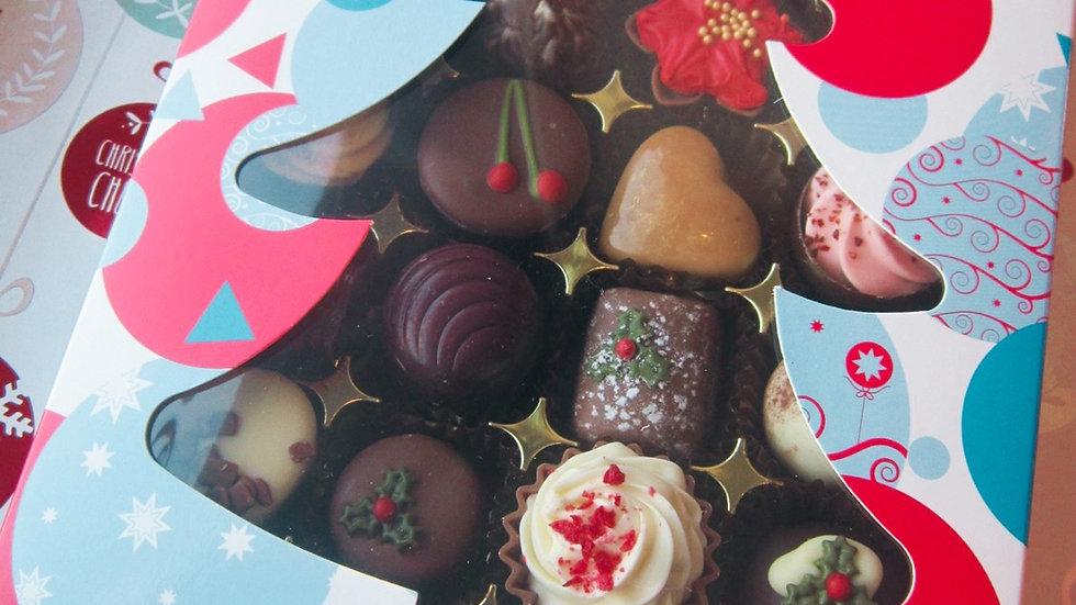 24 Chocolate Bauble Gift Box