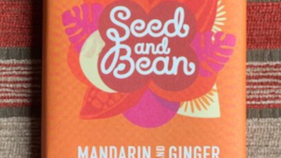 Seed & Bean Bar Mandarin and Ginger