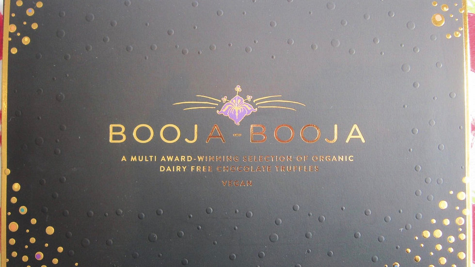 Vegan Booja-Booja Truffles