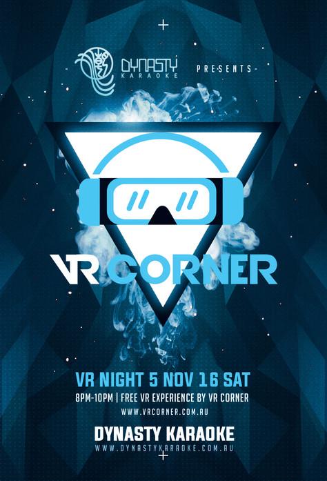 5th Nov this SAT - VR Night at Dynasty Karaoke