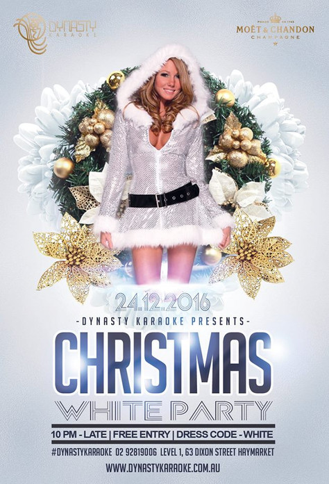 CHRISTMAS EVE WHITE PARTY