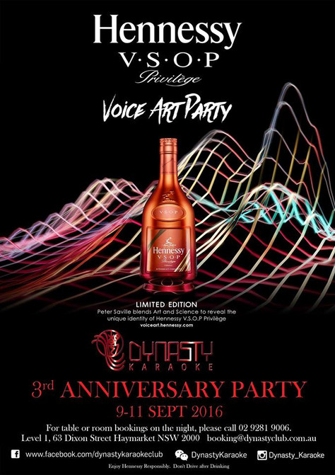 Hennessy presents - Dynasty Karaoke 3rd Anniversary Party