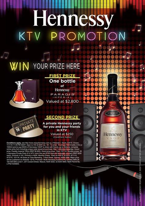 HENNESSY KTV PROMOTION @ Dynasty Karaoke !!!