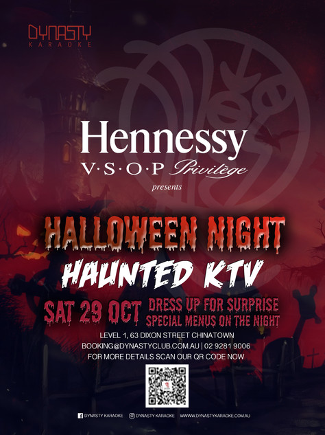 29 OCT Halloween Party 2016 - Dynasty x Hennessy VSOP