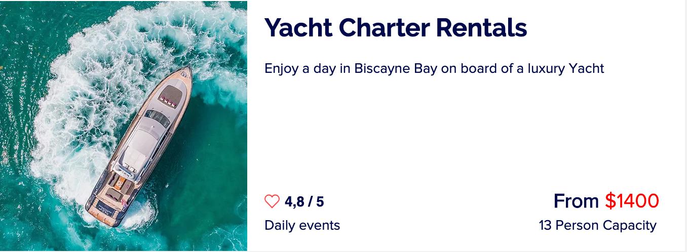 Yacht-rentals