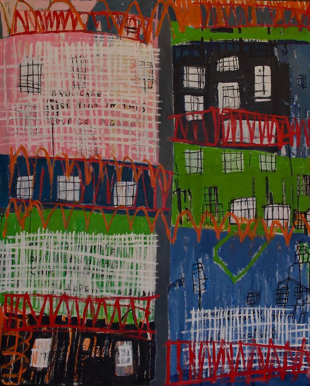 Trapped in a Bubble-Sally-Gordon-Artist-