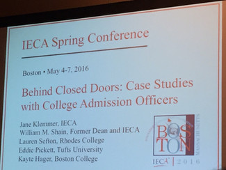 10 Takeaways on College Admissions from the Educational Consultants Association National Conference: