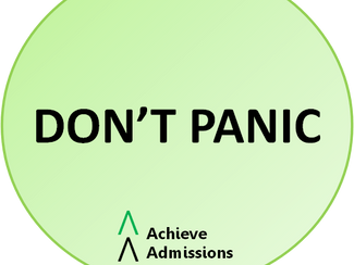 Achieve Admissions Newsletter April 2017