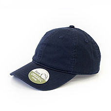 Organic Cotton Caps Unstructed washed na