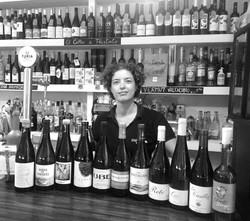 amplia selección de vinos