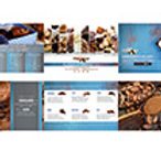 Brochure design for Art Chocolat event