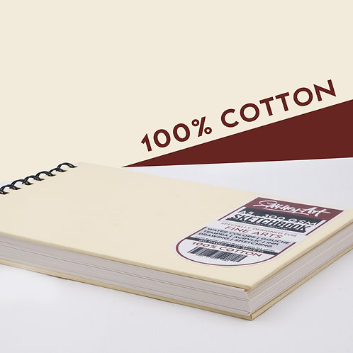 100% Cotton 300 GSM, Water and Acrylic Coloring Sketchbooks