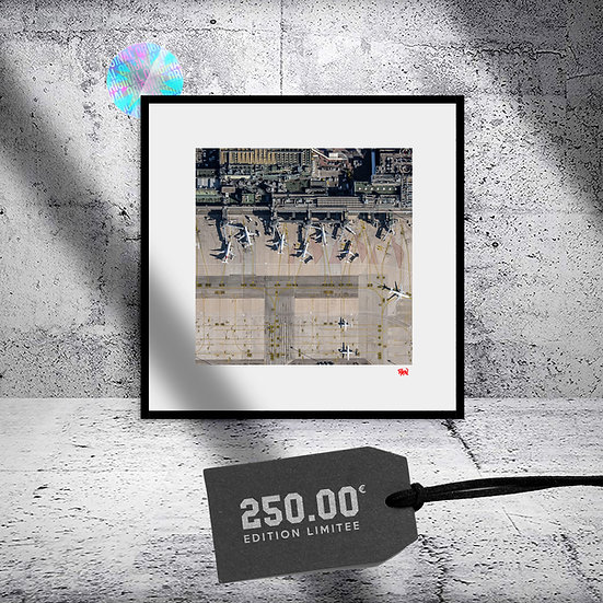 """Photographie ORIGINALE 40x40 """"The Square"""""""