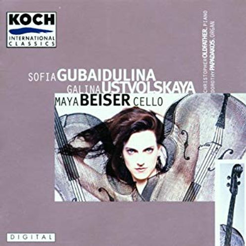 The Cello Music of Gubaidulina and Ustvolskaya
