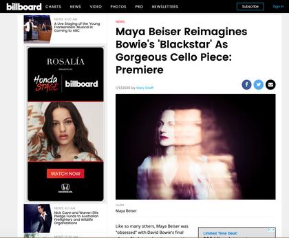 Billboard Feature