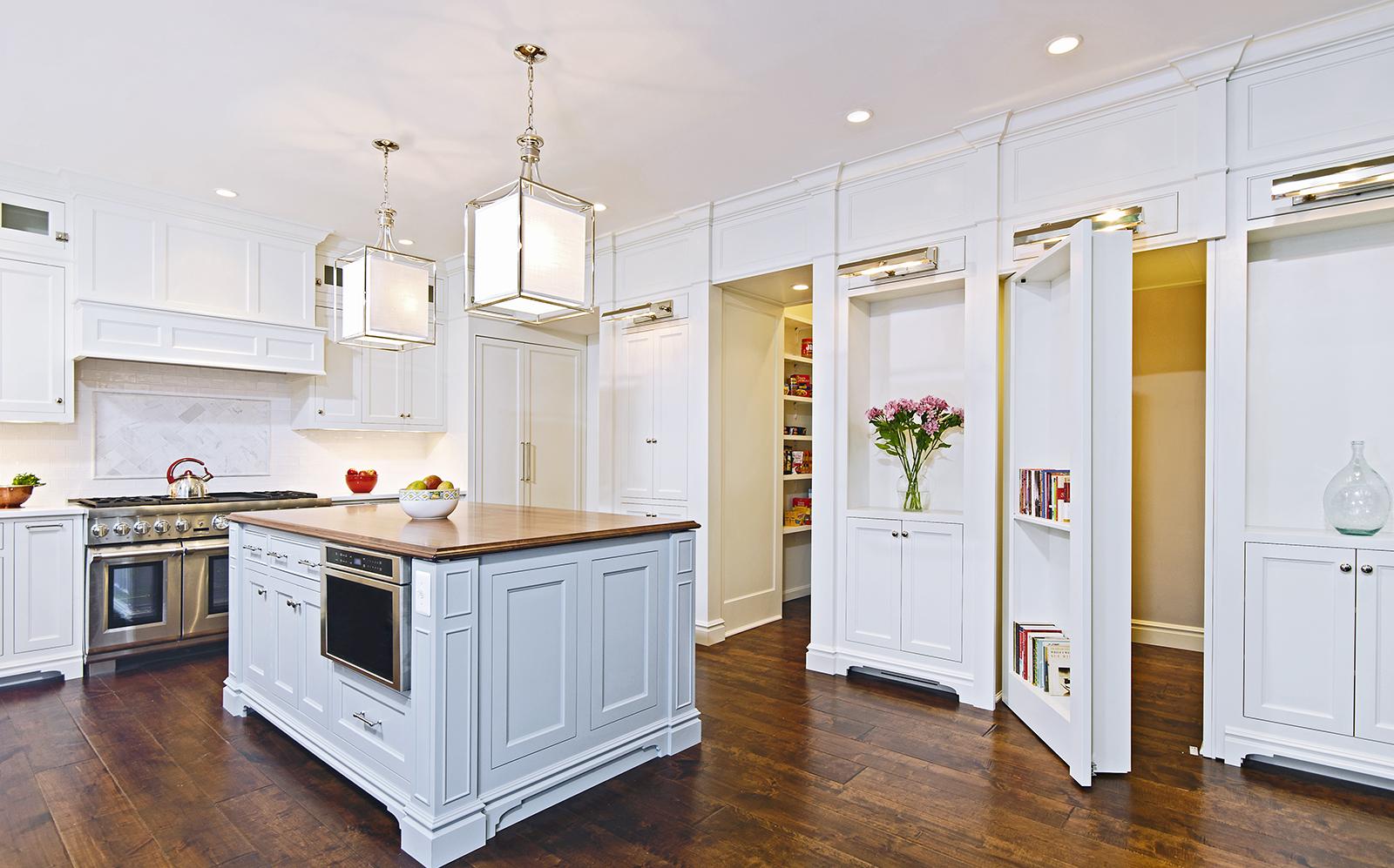 Kitchen with Hidden Door