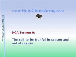 The Call to be Fruitful