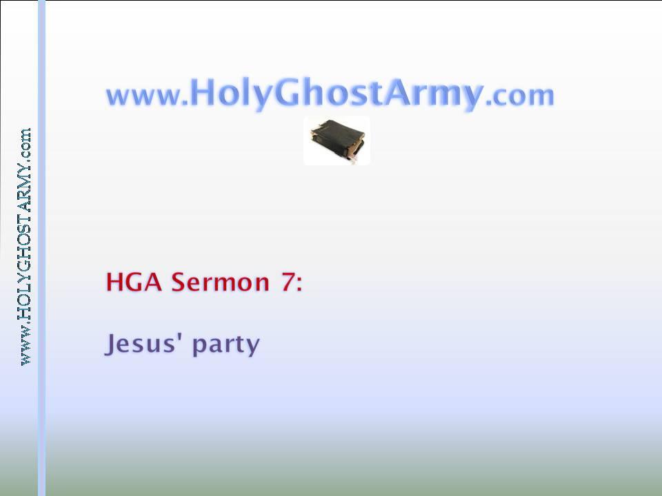 Jesus' Party