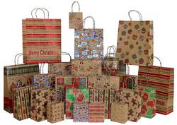Embellished Kraft Gift Bags