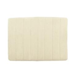 Memory Foam Bath Mat Cream