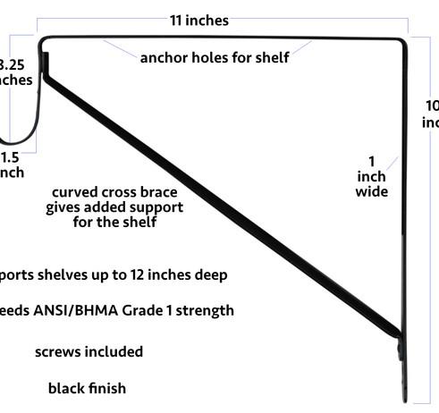 closet shelf bracket guide