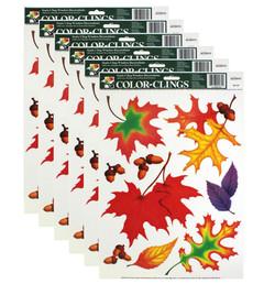 Leaf Clings 6-pack