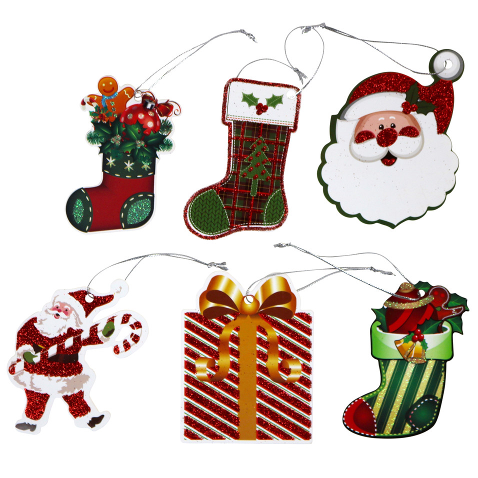 6 Tie-On gift tags (4)