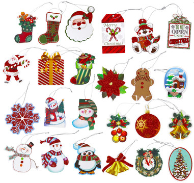 tie-on gift tags