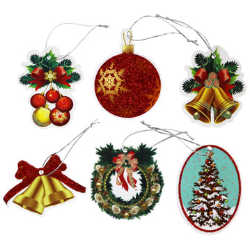 6 Tie-On gift tags (2)