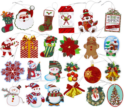 6 Tie-On gift tags (3)