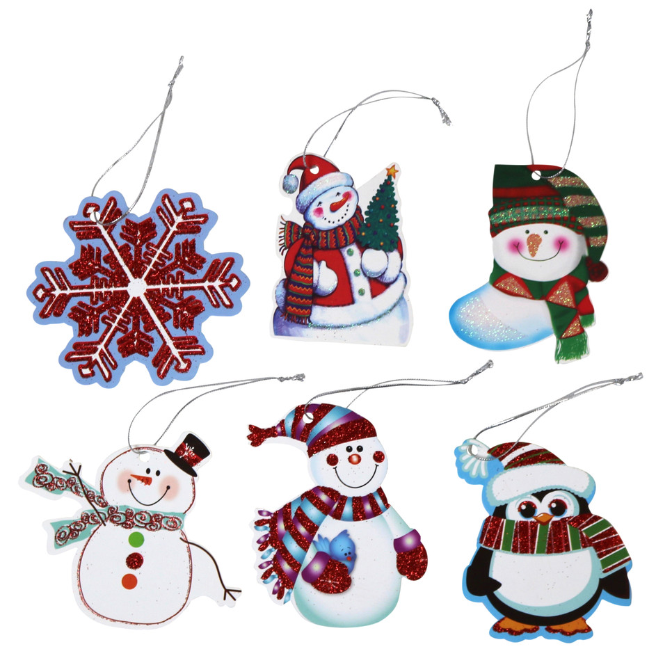 6 Tie-On gift tags (5)