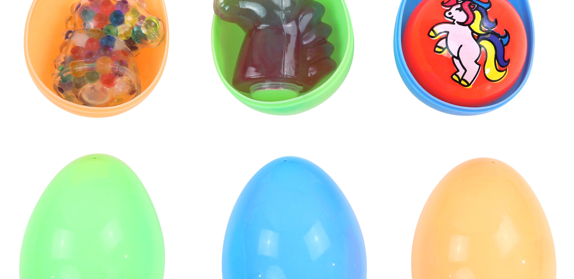 Toy-Filled Egg to scale