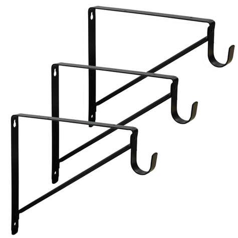 3-Pack Closet Shelf Brackets