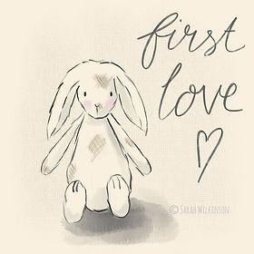 First Love Bunny silkyrosedesign.com.jpg