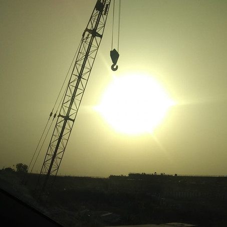 The crane which fell in love