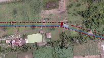 Fragment of transmission line - Lidar.pn