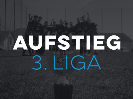 Aufstieg in 3. Liga