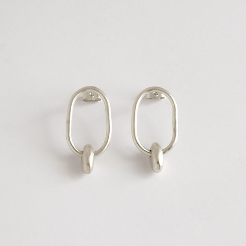 BAIUSHKI SWING PEBBLES EARRINGS