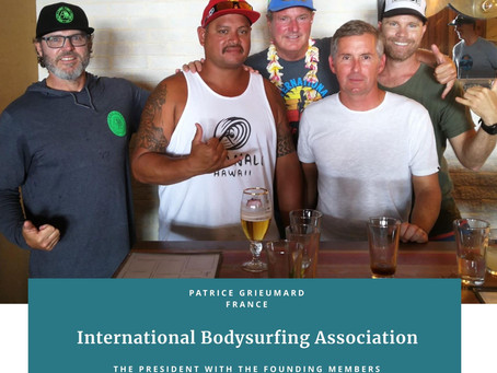 The Formation of the International BodySurfing Association – IBSA.