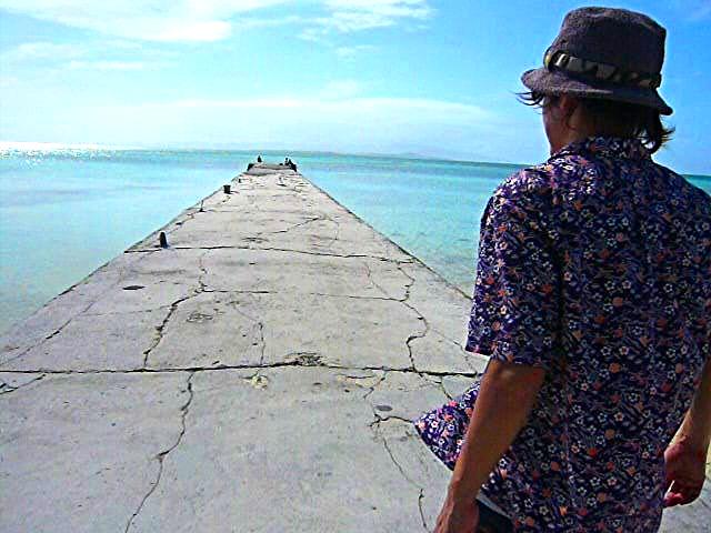 竹富島の西桟橋