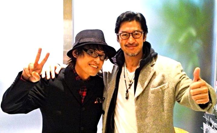 上京してすぐの頃から兄貴分、俳優の冨家規政さんご来場