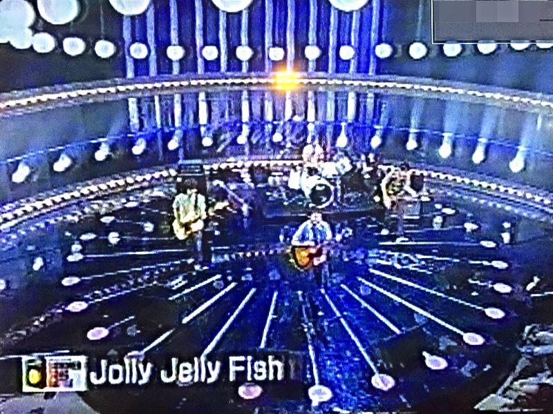 NHK-TV出演 Jolly Jelly Fish キンモクセイ